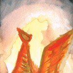 Firebird Watercolor