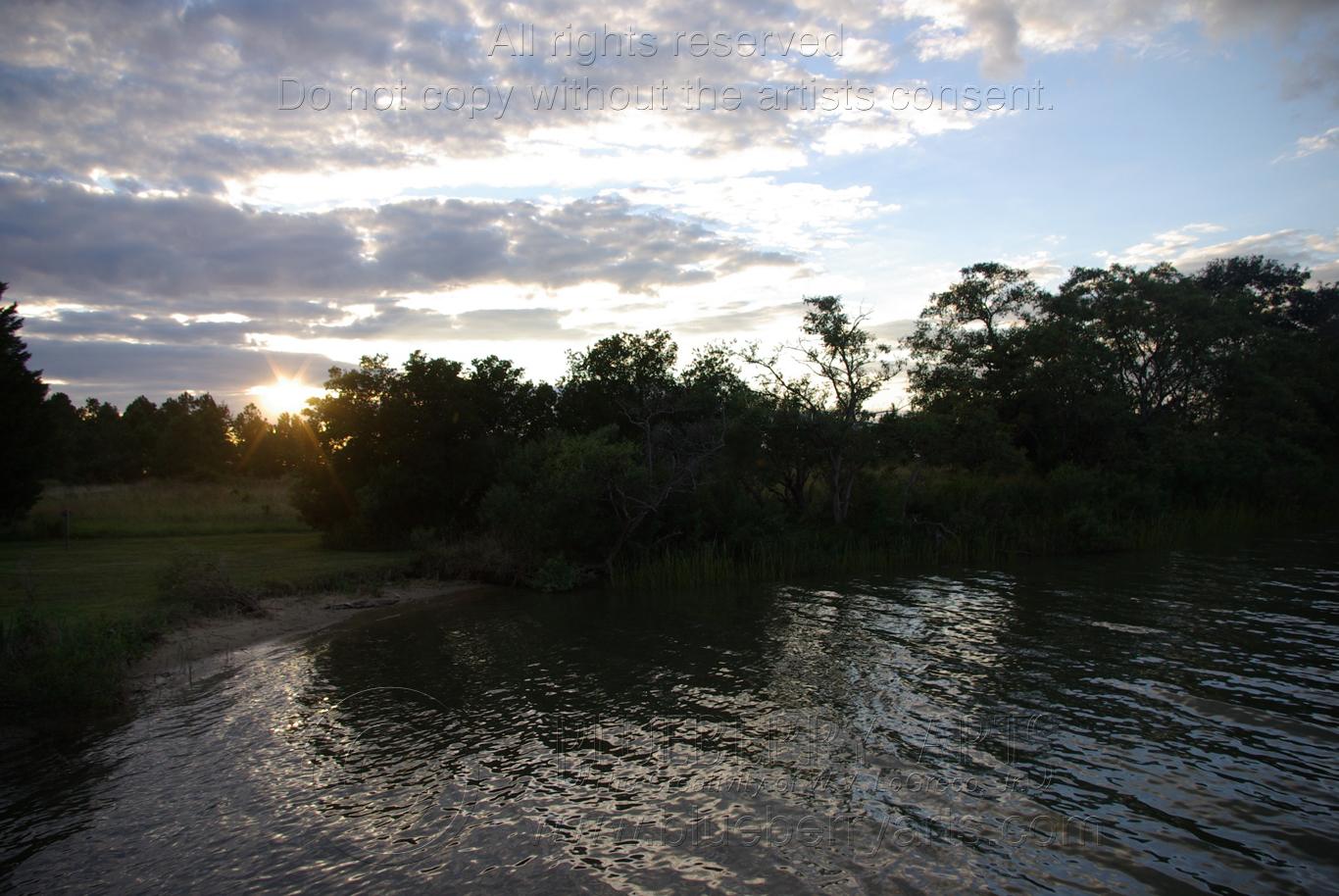Cabin Cove Sunset