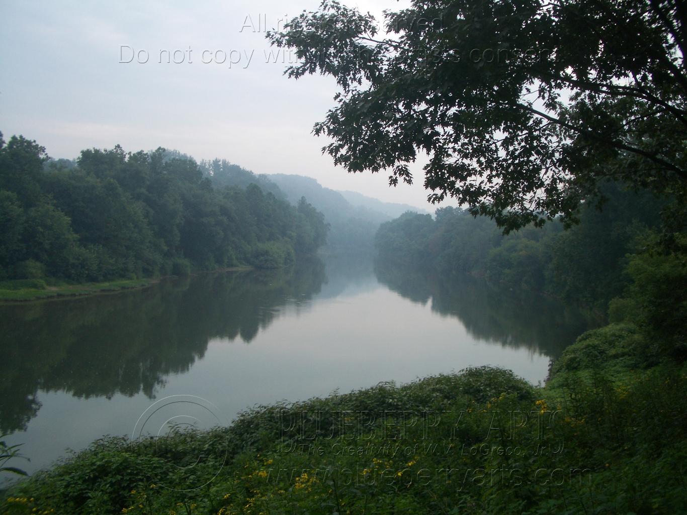 Misty Youghiogheny